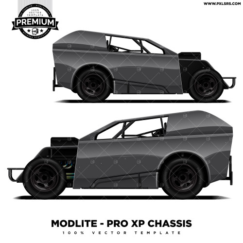 Modlite - Pro XP Chassis 'Premium' Vector Template