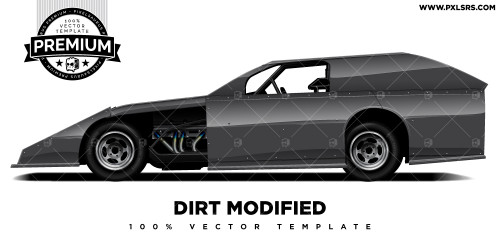 Dirt Modified 'Premium' Vector Template