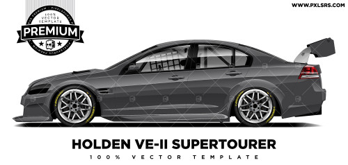 Holden VE-II Supertourer 'Premium' Vector Template