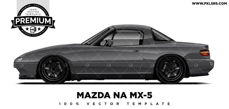 Mazda NA MX-5 'Premium' Vector Template