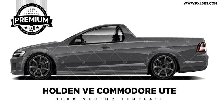 Holden VE Commodore Ute 'Premium' Vector Template