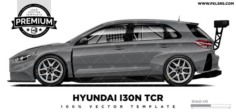 Hyundai i30n TCR 'Premium' Vector Template