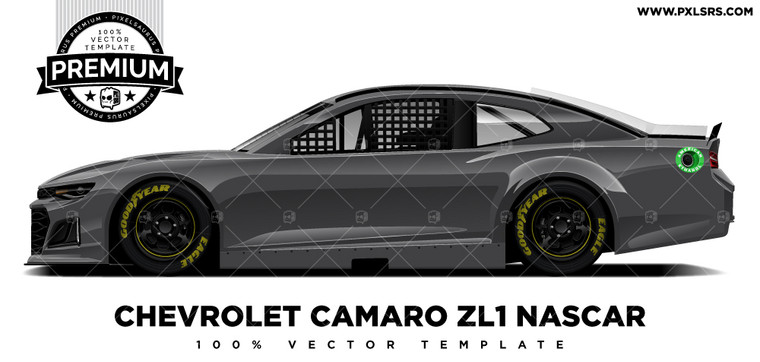 Chevrolet Camaro ZL1 Nascar 'Premium' Side Vector Template