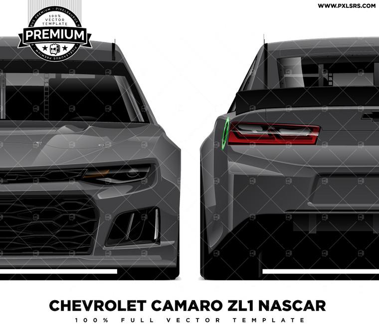 Chevrolet Camaro ZL1 Nascar - Full 'Premium' Vector Template