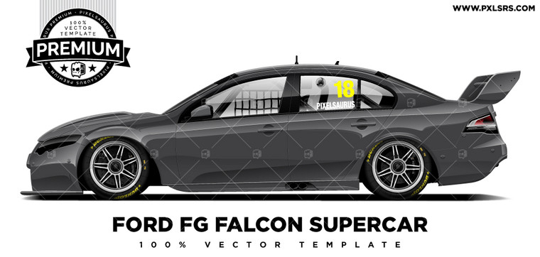 Ford FG Falcon Supercar 'Premium' Template