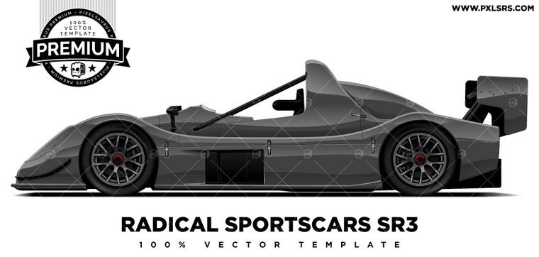 Radical Sportscars SR3 'Premium' Template