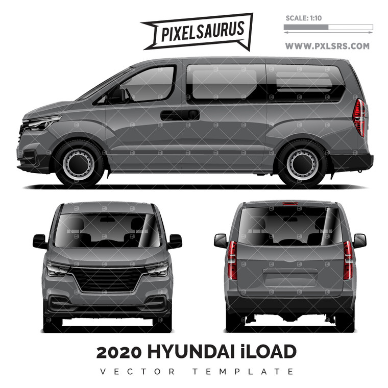 2019-2020 Hyundai iLoad 'Vector' Template