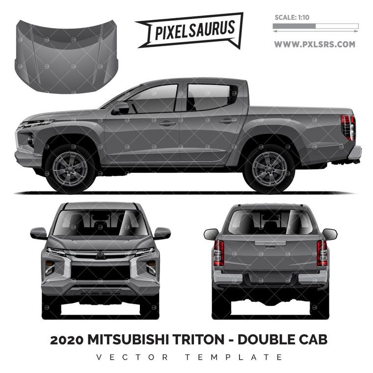 2020 Mitsubishi Triton - Double Cab 'Vector' Template