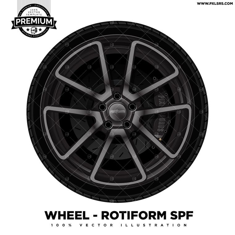 Rotiform SPF 'Premium' Vector Wheel