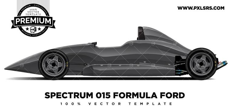 Spectrum Formula Ford (015) 'Premium' Vector Template