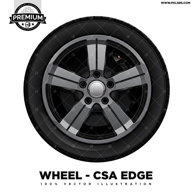 CSA Edge 'Premium' Vector Wheel
