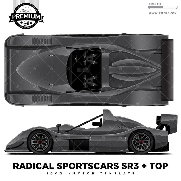 Radical Sportscars SR3 + Top 'Premium' Template