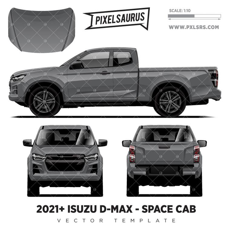 2021+ Isuzu D-Max (RG) Space Cab  'Vector' Template