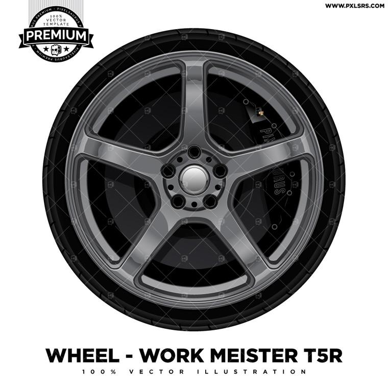 Work Emotion T5R 'Premium' Vector Wheel