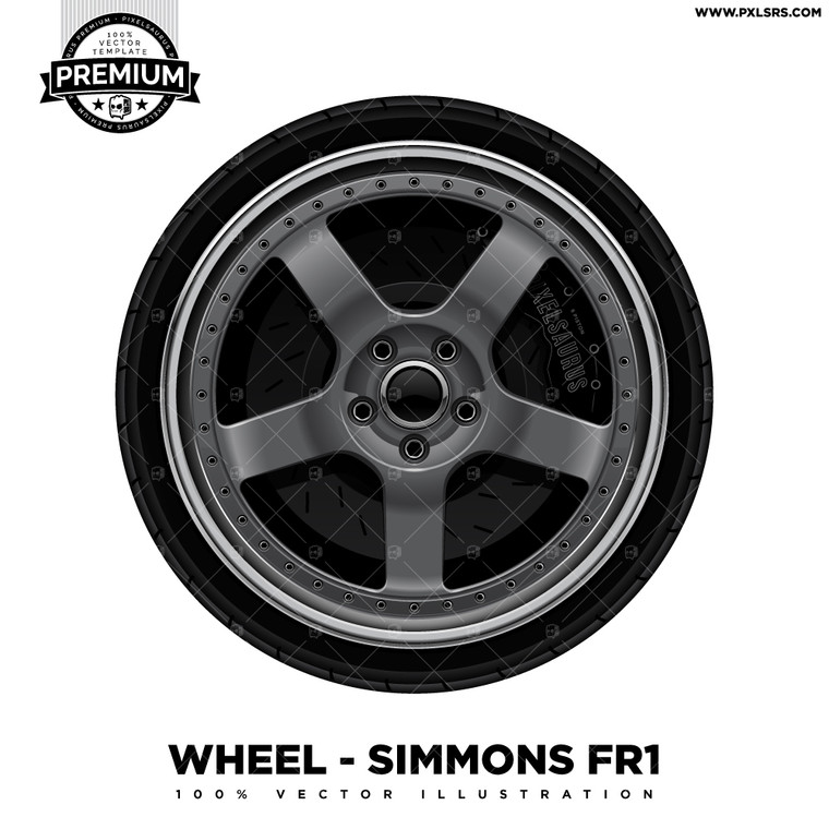 Simmons FR1 'Premium' Vector Wheel