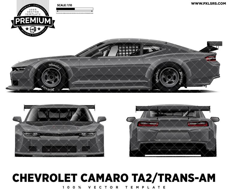 Chevrolet Camaro TA2/Trans-Am Full 'Premium' Vector Template