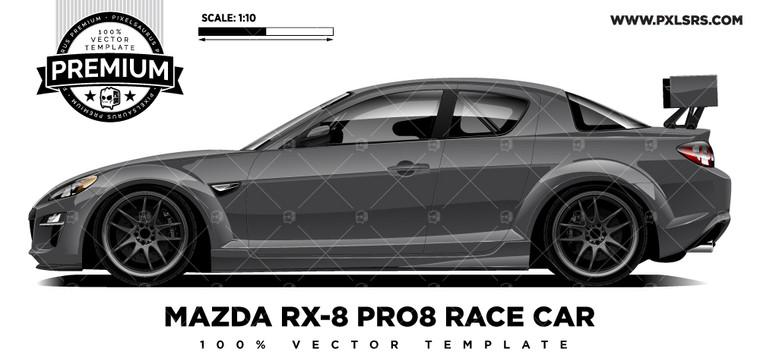 MAZDA RX-8 PRO8 RACE CAR