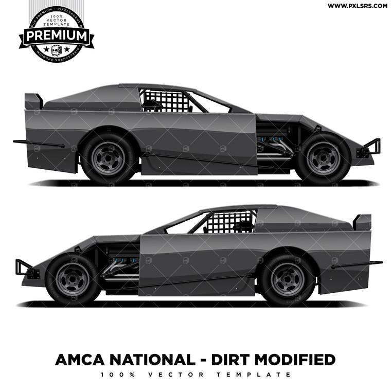 AMCA National - DIRT Modified 'Premium' Vector Template