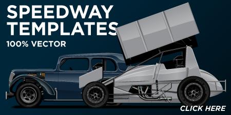 Pixelsaurus Speedway Templates