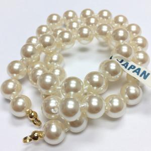 """Japanese Ivory Finish Acrylic Pearl Style Beads 6mm 60/"""" Strand"""