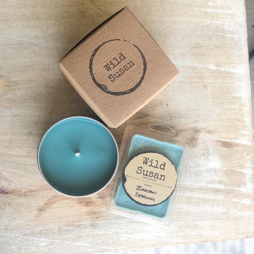 Barton Springs [Sea Salt + Orchid] Soy Candle/Wax Melt