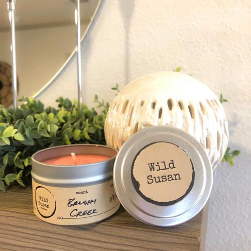 Brushy Creek [Sandalwood + Leather] Soy Candle/Wax Melt