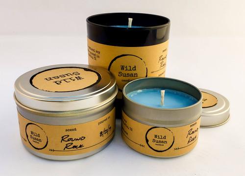 Round Rock [Oakmoss + Amber] Soy Candle/Wax Melt