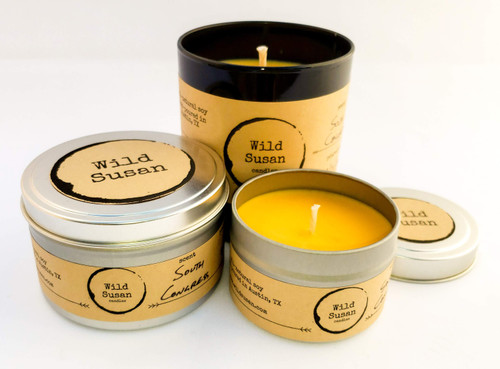 South Congress [Bergamot + Amber + Patchouli] Soy Candle/Wax Melt