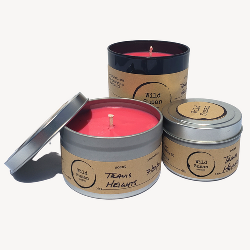 Travis Heights [Orange + Chili Pepper] Soy Candle/Wax Melt