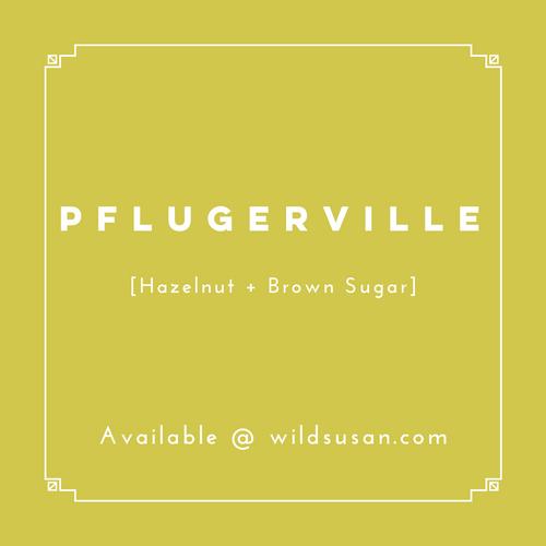 Pflugerville [Hazelnut + Brown Sugar] Soy Candle/Wax Melt
