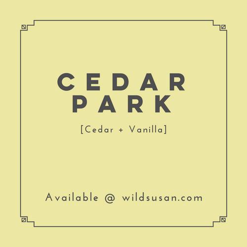 Cedar Park [Cedar + Vanilla] Soy Candle/Wax Melt
