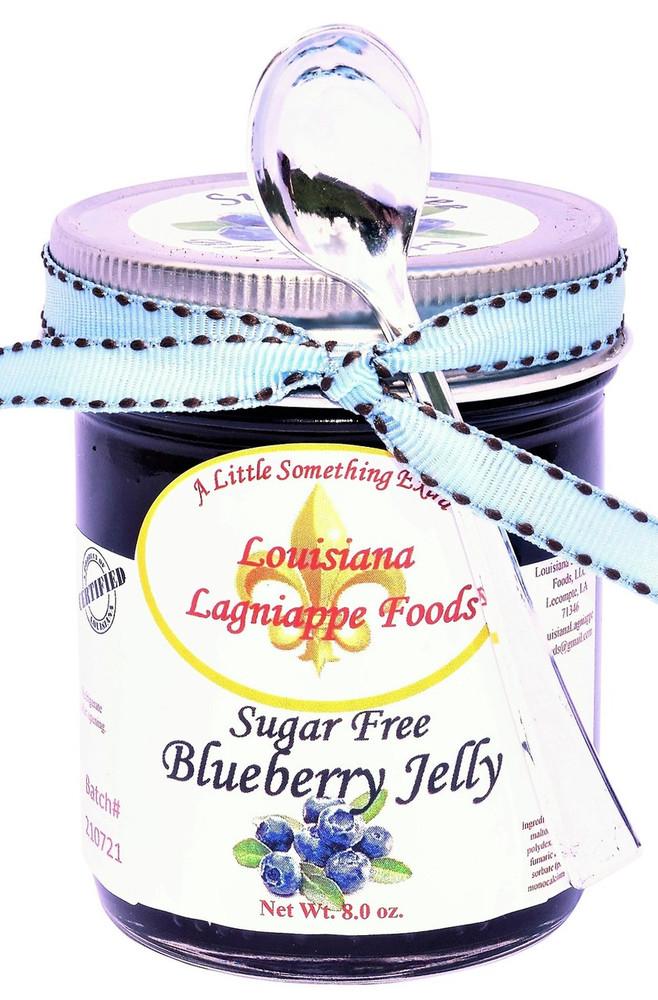 No Sugar Added Blueberry Jelly