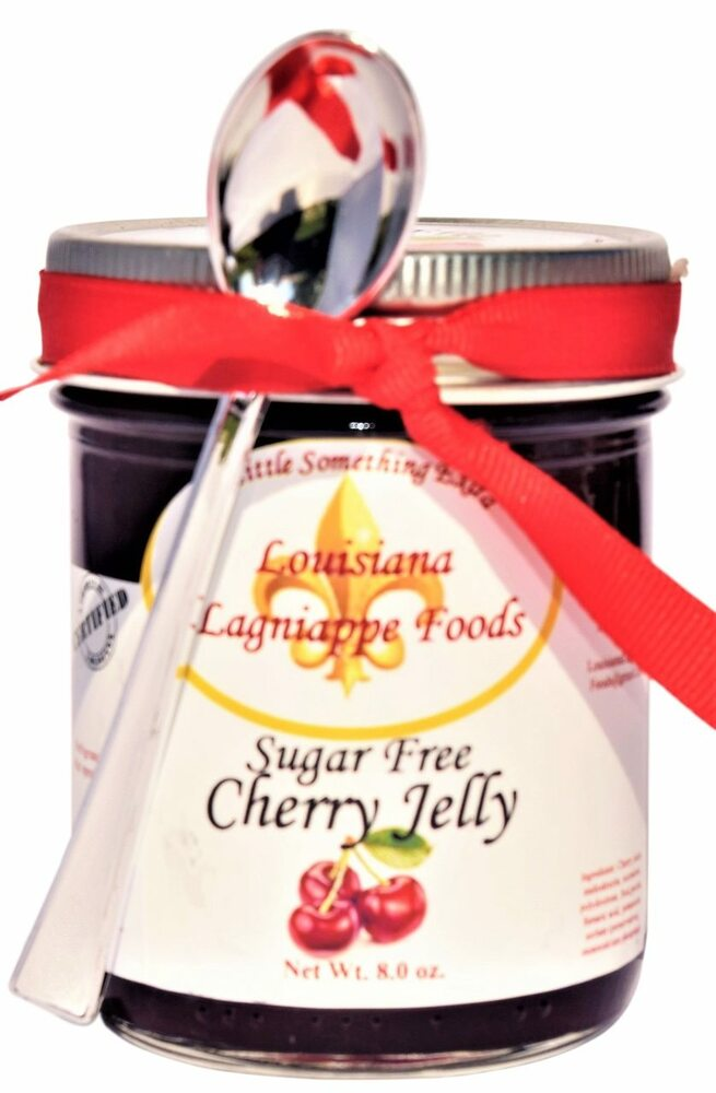 No Sugar Added Cherry Jelly
