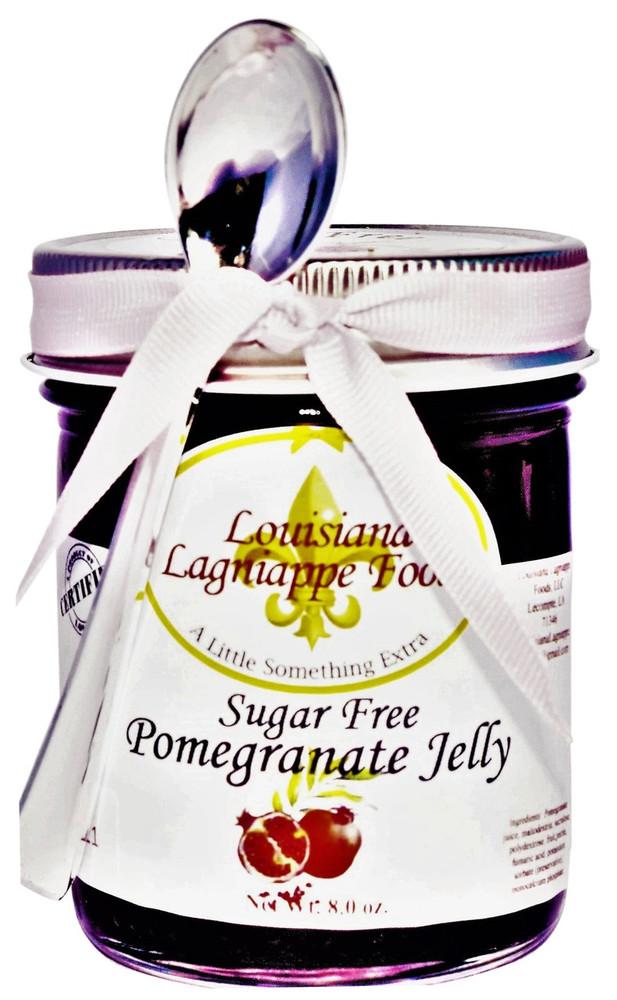 No Sugar Added Pomegranate Jelly