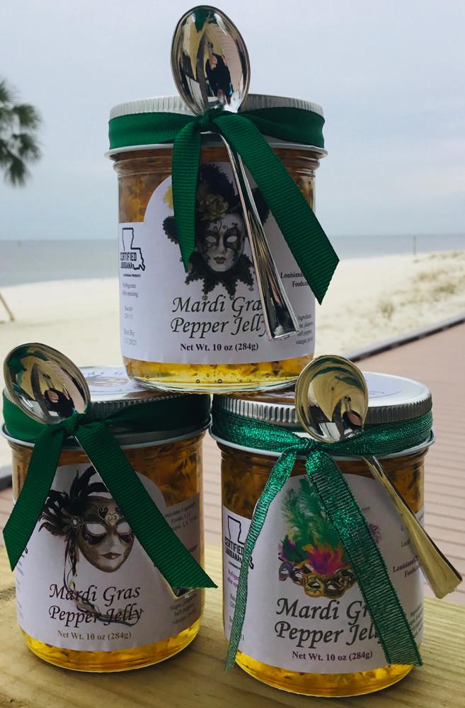 Mardi Gras Pepper Jelly