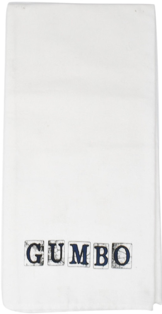 Gumbo Spanish Tiles Hand Towel