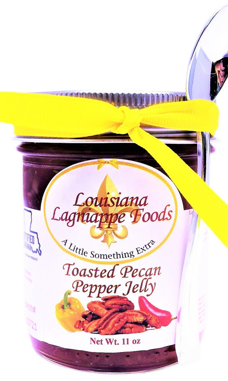 Toasted Pecan Pepper Jelly