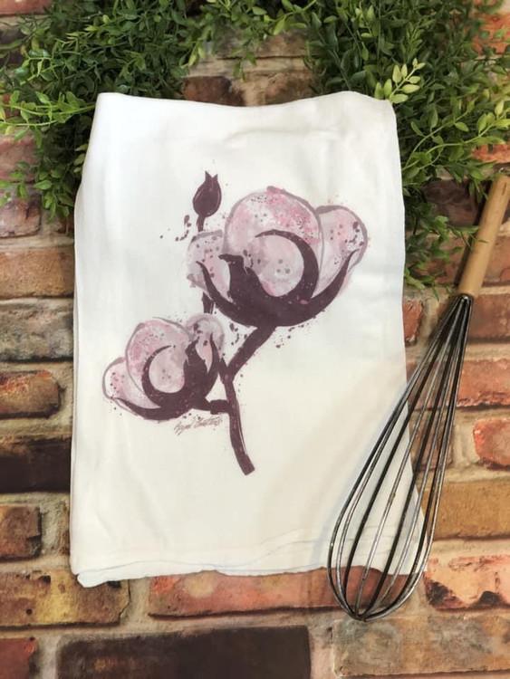 Cotton Boll Flour Sack Towel
