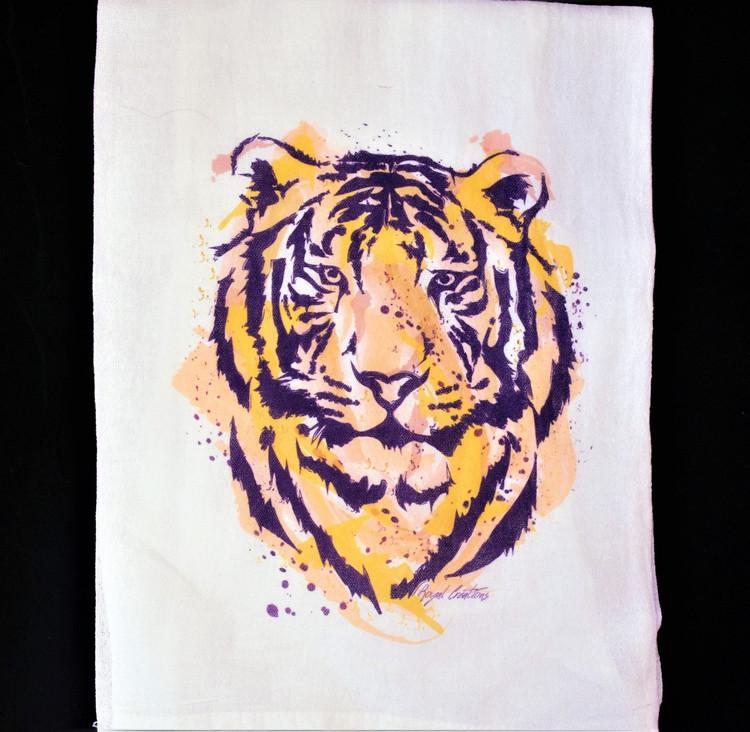 Tiger Flour Sack Towel