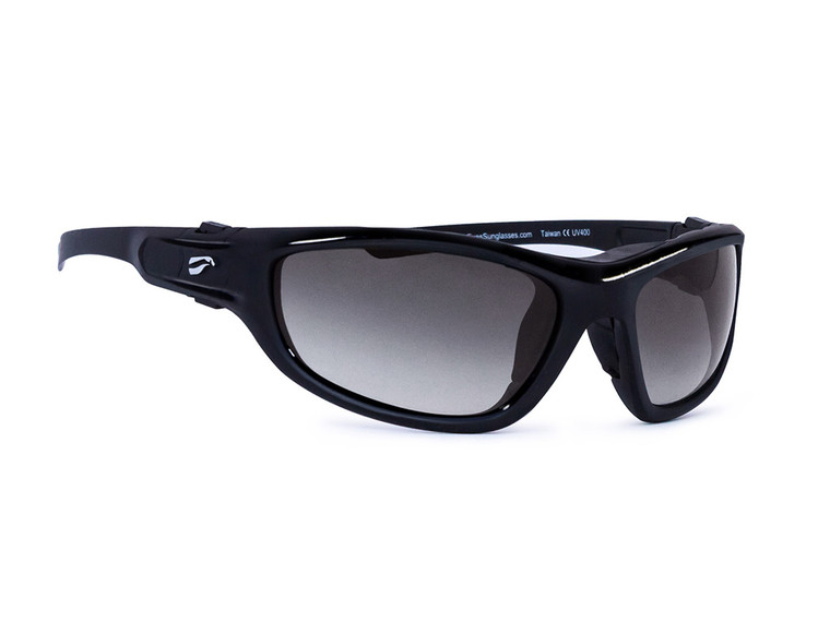 Flying Eyes Hawk Convertible - Glossy Black Frames with Gradient Gray Lenses