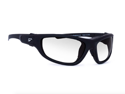 Hawk Convertible Non-Rx Bifocal - Matte Black Frame with Clear Lenses