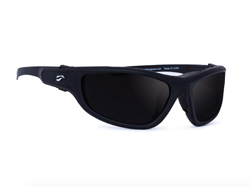 Hawk Convertible - Matte Black Frame with Polarized Gray Lenses