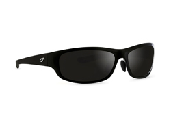 Golden Eagle Sport - Glossy Black Frame with Polarized Gray Lenses