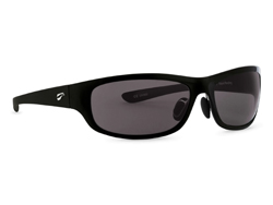 Golden Eagle Sport - Glossy Black Frame with Solid Gray Lenses