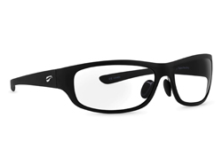 Golden Eagle Sport - Matte Black Frame with Clear Lenses