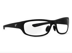 Golden Eagle Sport Non-Rx Bifocal - Matte Black Frame with Clear Lenses