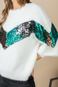 Olypmia Sparkle knit