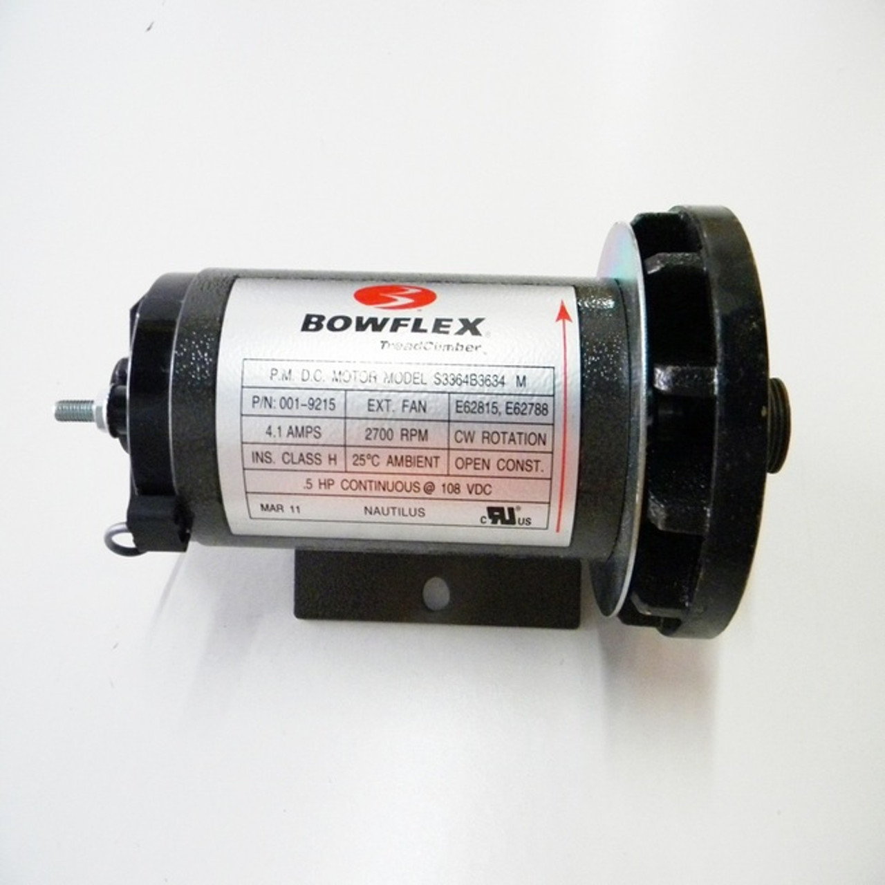 BowFlex Treadclimber Model TC6000 Drive Motor Part 12710