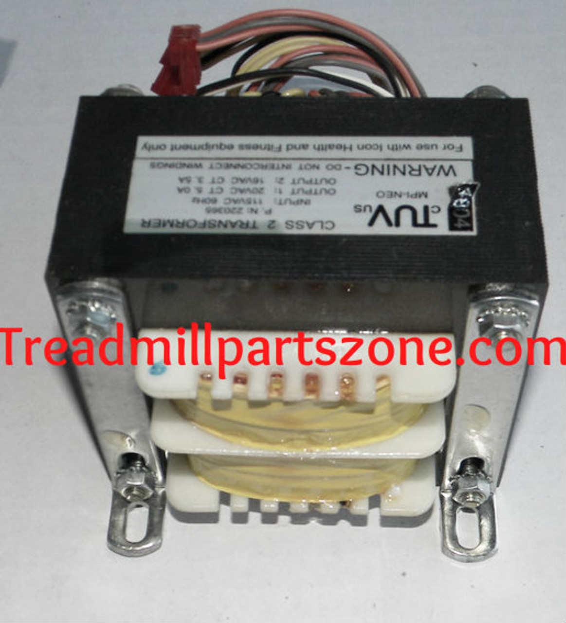 Treadmill Transformer Part Number 220365