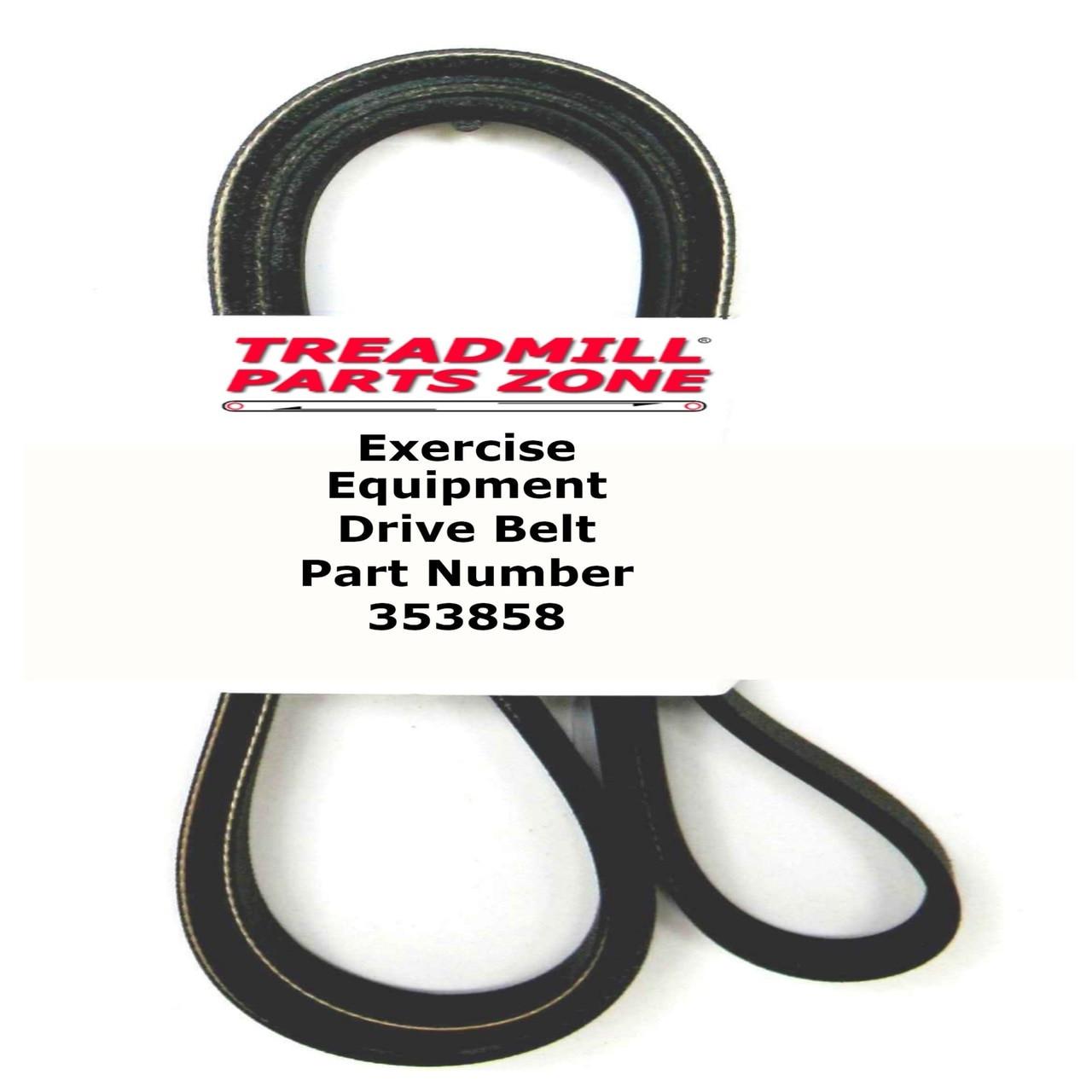 Part # 353858 NordicTrack ProForm FreeMotion Elliptical Drive Belt